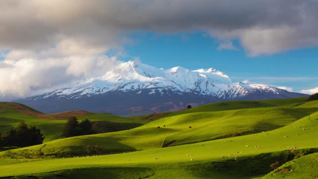 TIME LAPSE: Mt Ruapehu New Zealand video