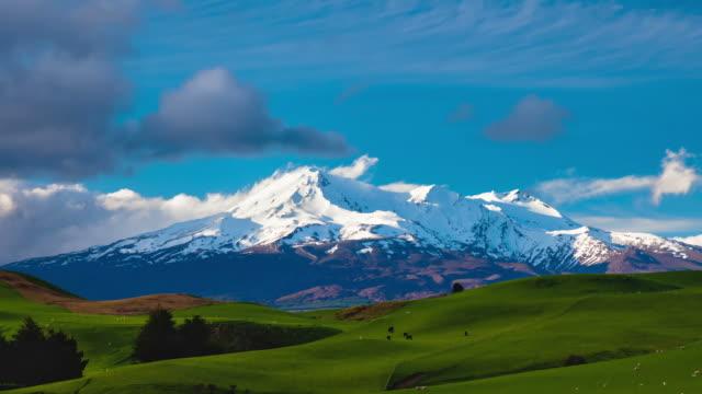 TIME LAPSE: Mt Ruapehu video