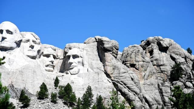 vídeos y material grabado en eventos de stock de monumento nacional mt rushmore - mount rushmore