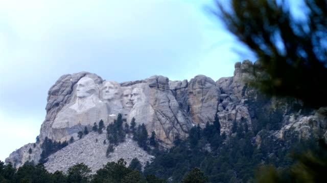vídeos y material grabado en eventos de stock de monte rushmore, dakota del sur - mount rushmore