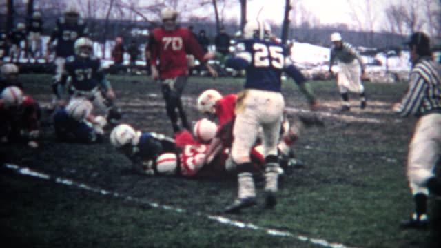 (8mm Vintage) Muddy Football Game