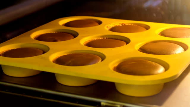 Muffin explosion - Timelapse video