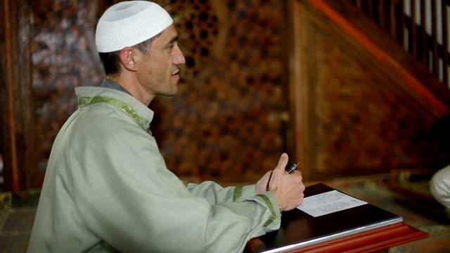 Mullah  in  mosque video
