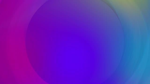 멀티 컬러 서클 모양 추상적인 배경 - 배경 초점 스톡 비디오 및 b-롤 화면