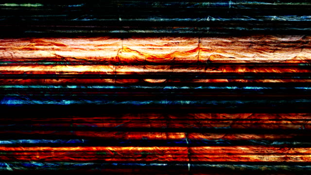 Multi colored striped natural texture background video