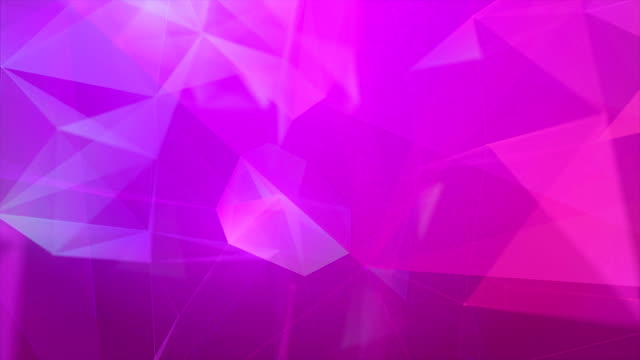 multi colored triangle shape abstract backgrounds - sfondo multicolore video stock e b–roll