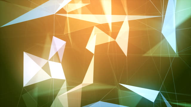 multi colored triangle shape abstract loopable backgrounds