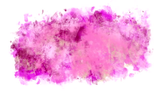 Multicolor abstract background Abstract background of multicolored watercolor stains watercolor stock videos & royalty-free footage