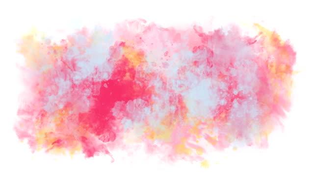 multicolor abstrakten hintergrund - schmutzfleck stock-videos und b-roll-filmmaterial