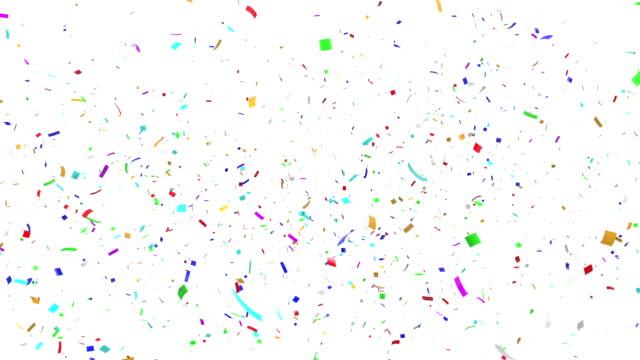 Multicolor Confetti Explosion