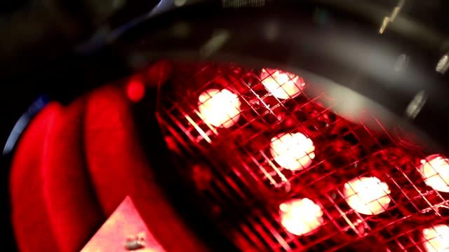 Multicolor Spotlights Close-up video