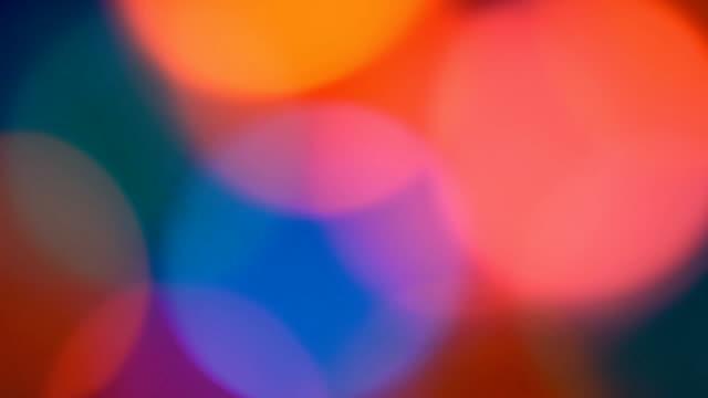 Multicolored background video