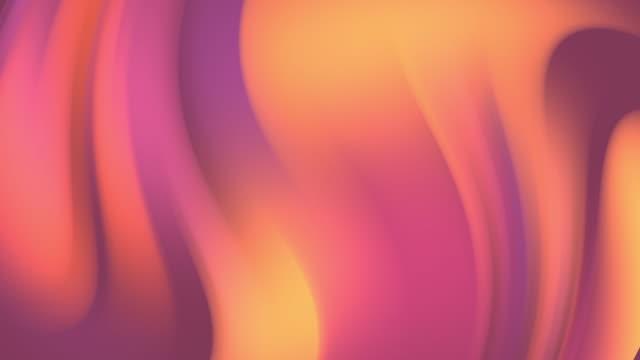 여러 가지 빛깔의 동작 그라데이션 배경 - 언덕 스톡 비디오 및 b-롤 화면
