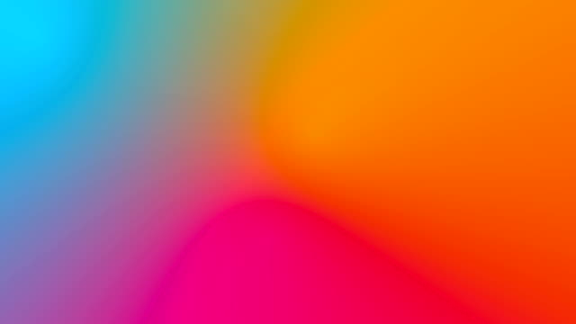 Multicolored motion gradient background video