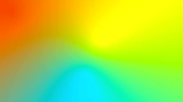 vídeos de stock e filmes b-roll de multicolored motion gradient background - suavidade