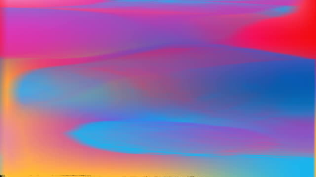Multicolored motion gradient background with seamless loop repeating in 30fps