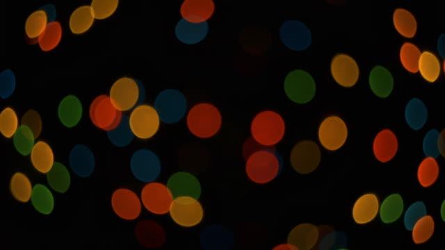 Multi-colored spots