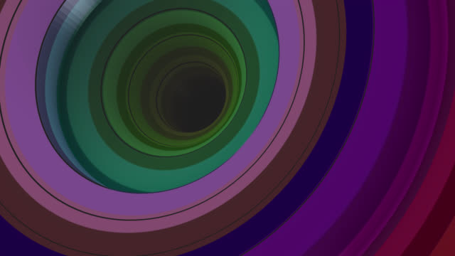 Multicolored vertigo abstract background (Loopable)