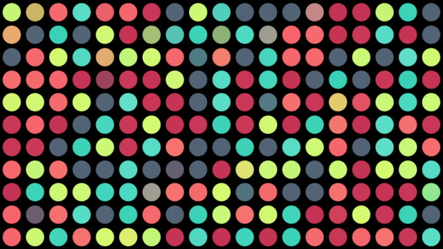 Multicoloured Circles video