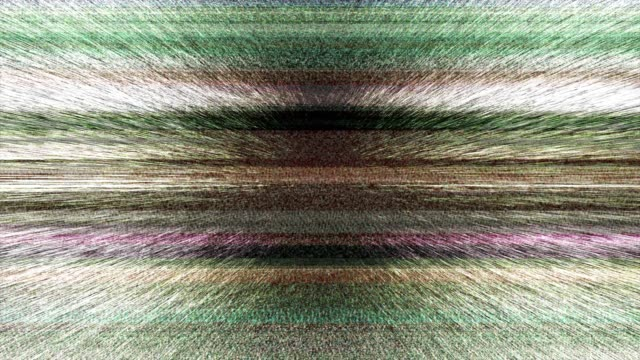 Multicoloured Horizontal Lines With Tv Static 1 Stock Video