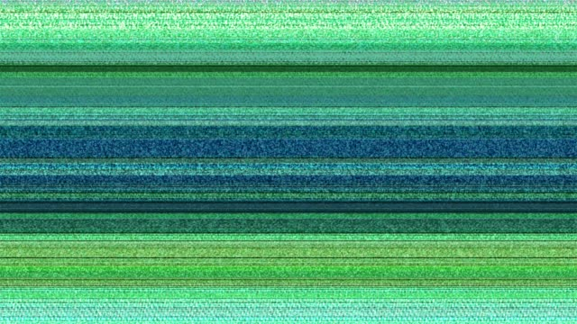 Multicoloured Horizontal Lines With Tv Static 11 Stock Video