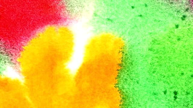Multi-coloured spot. video