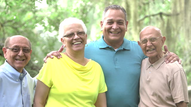 Multi-generation Hispanic family video