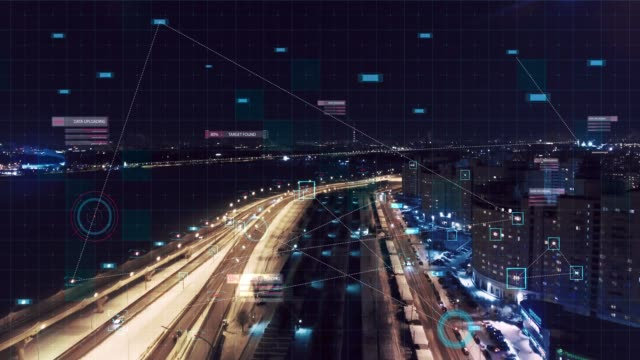 Video HUD Multipath target monitoring in city