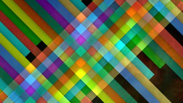 multiple versions (4) colorful copy spaces made from lines - sfondo multicolore video stock e b–roll