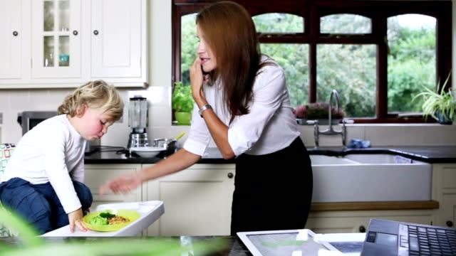 Multitasking Business Mum Homeworker video