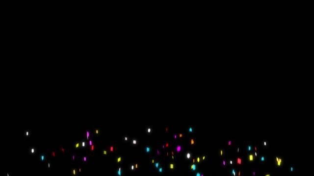 Multiversion in 1 - Confetti Rain Alpha Channel (Apple Prores Alpha)