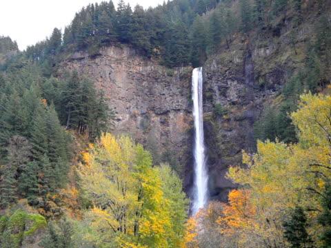 PAL Multnomah Falls waterfall in Oregon USA