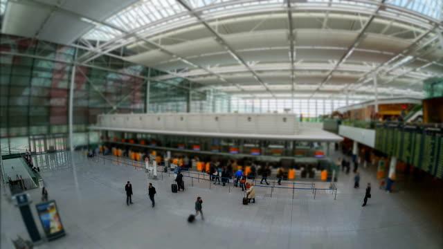 Munich Airport Check In video