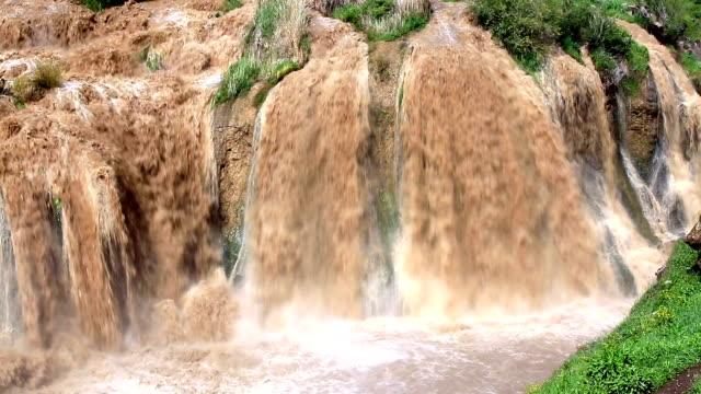 muradiye waterfall, turkiet - anatolien bildbanksvideor och videomaterial från bakom kulisserna