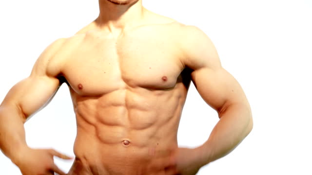 Muscular Male Torso video