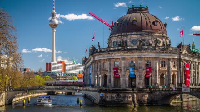 Museum Island in Berlin, Germany video