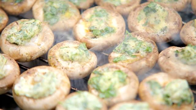 mushrooms  hd video