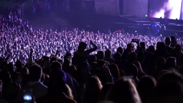 musik festival tanzen - musikfestival stock-videos und b-roll-filmmaterial