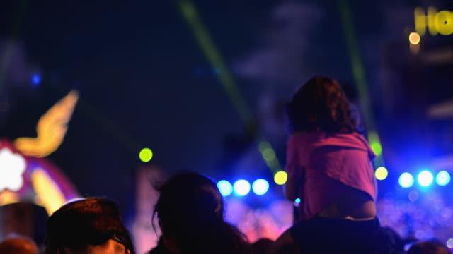 music festival - circus stok videoları ve detay görüntü çekimi