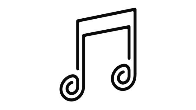 Music Line Motion Graphic