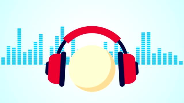 Music listening video