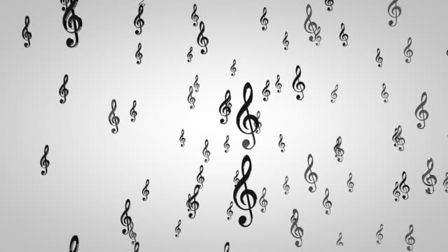 Music Notes Particles