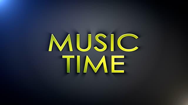 music time gold explosion text, loop - kokosfiber bildbanksvideor och videomaterial från bakom kulisserna