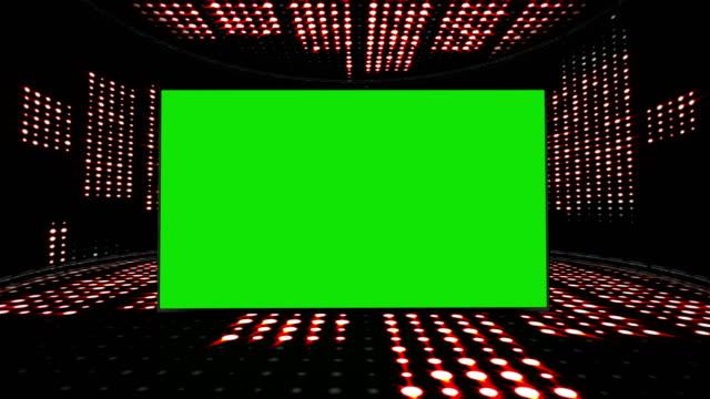 musik vågor room, glöd lampor animation, rendering, bakgrund, slinga - kokosfiber bildbanksvideor och videomaterial från bakom kulisserna