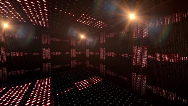 musikrum vågor, ljus lökar animation, - kokosfiber bildbanksvideor och videomaterial från bakom kulisserna