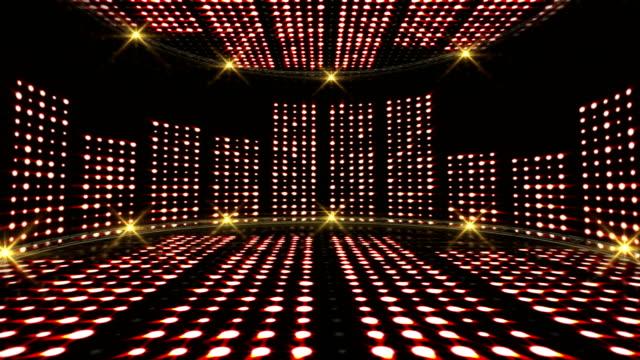 musik vågor rummet, ljus lökar bakgrund, animation - kokosfiber bildbanksvideor och videomaterial från bakom kulisserna