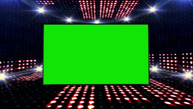 musik vågor rummet, radio, ljus lökar animering, rendering, bakgrund, loop - kokosfiber bildbanksvideor och videomaterial från bakom kulisserna