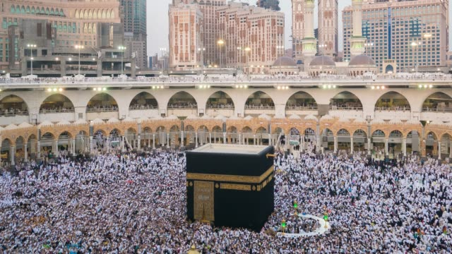 muzułmański świat wydarzeń mekki - alabama filmów i materiałów b-roll