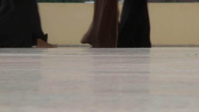 Muslims Females Walking video