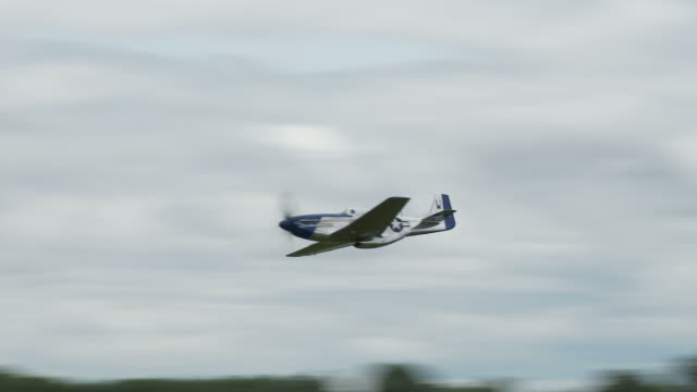 p - 51 mustang 24_1 due clip - mustang video stock e b–roll